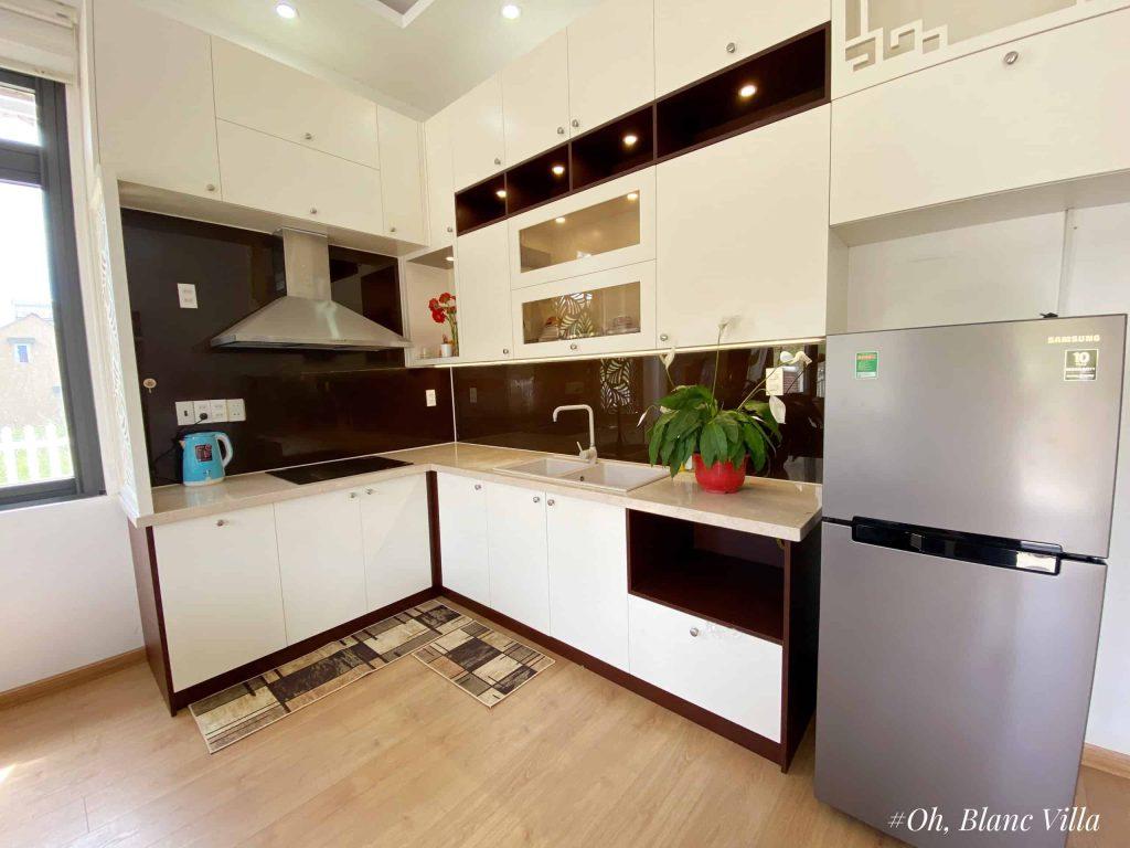 Phòng bếp villa oh, blanc
