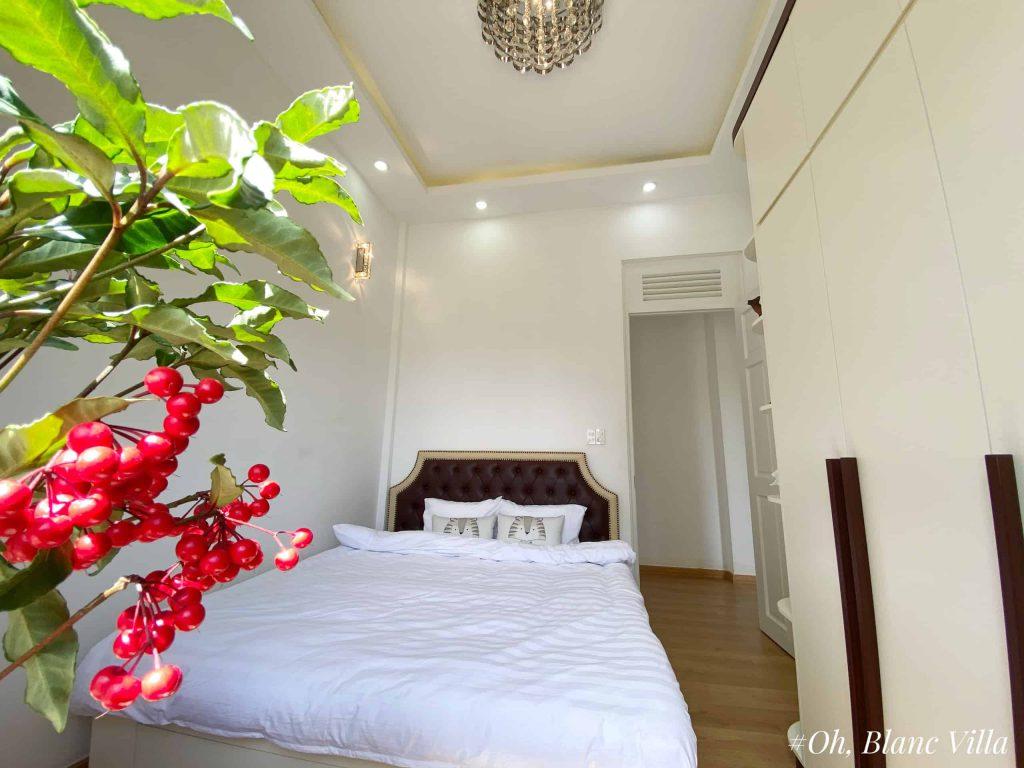 Phòng ngủ villa oh, blanc
