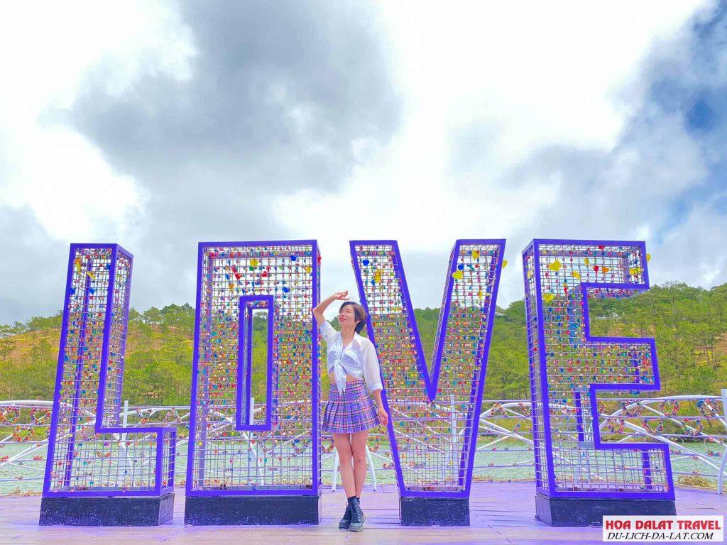 check in thung lũng tình yêu