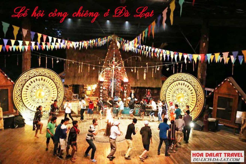 Lễ hội cồng chiêng ở Đà Lạt