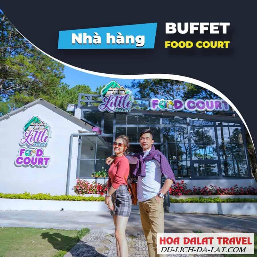 Nhà hàng buffet ở thung lũng tình yêu