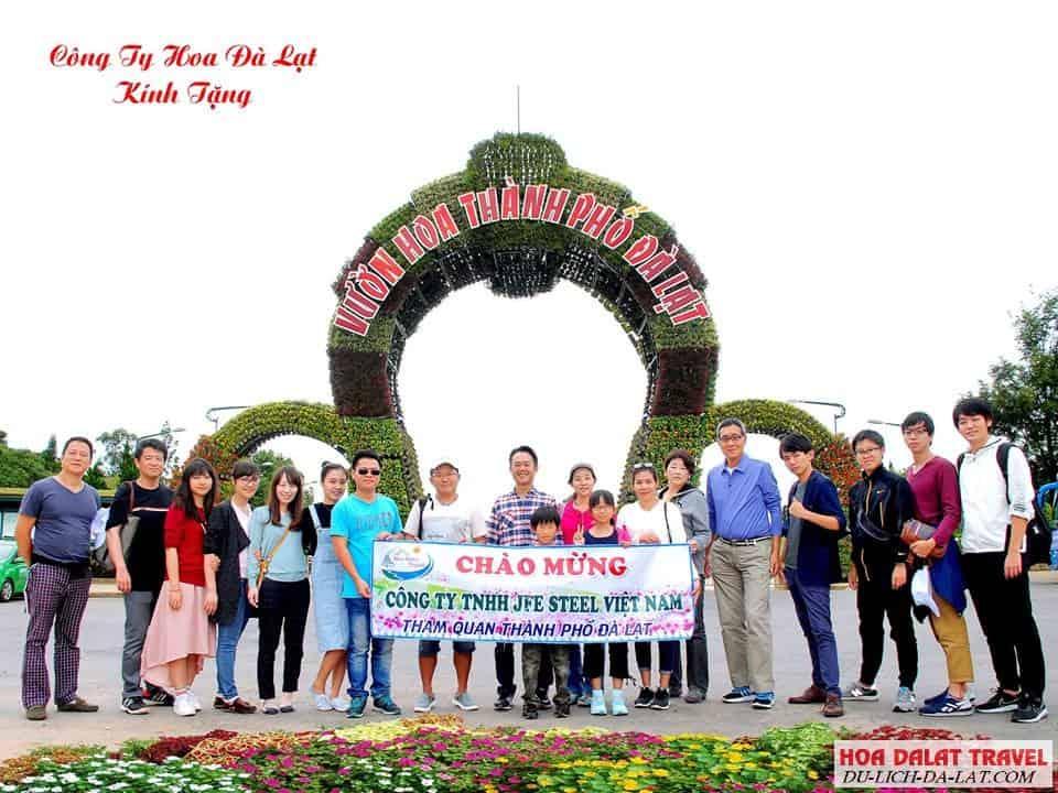 Tour 1 ngày do Hoa Dalat Travel tổ chức