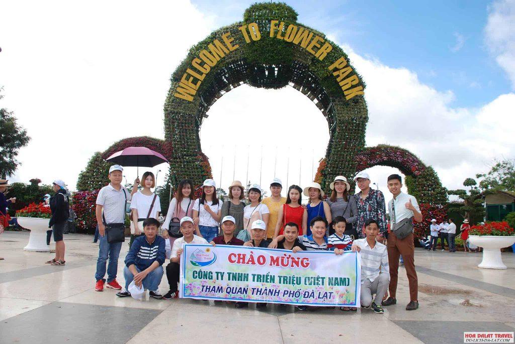 Tour 1 ngày Hoa Dalat Travel