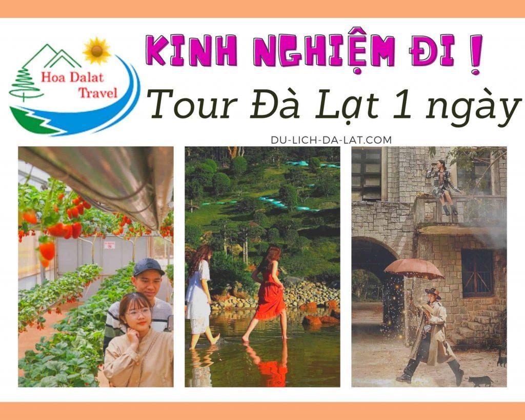 Kinh nghiệm đi tour Đà Lạt 1 ngày