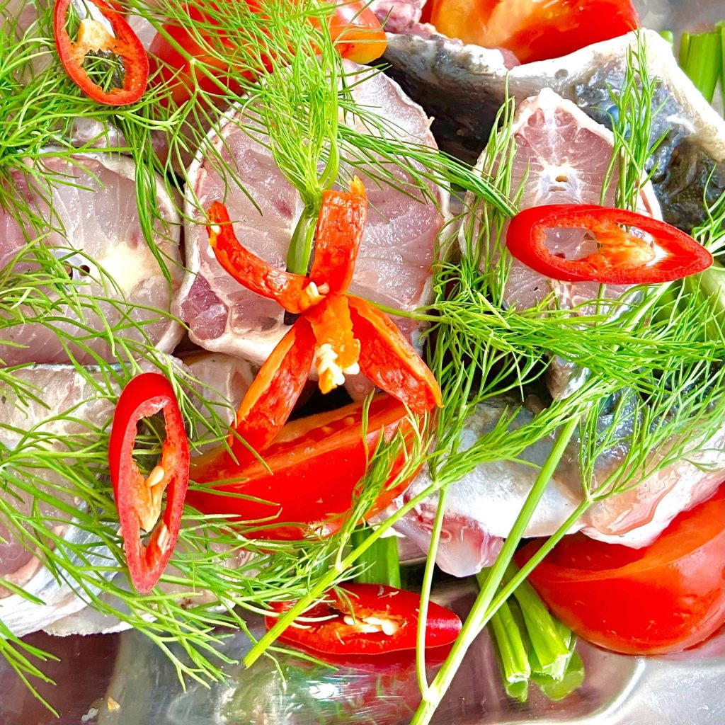 Lẩu cá tầm măng chua