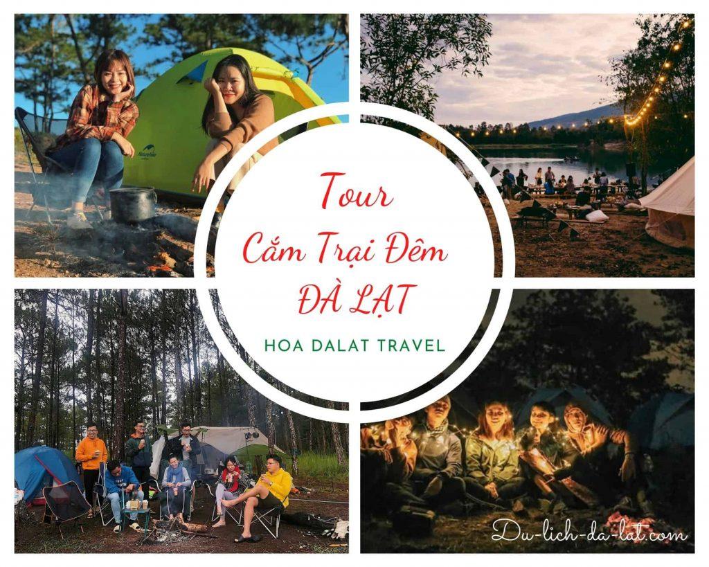 Tour cắm trại đêm Đà Lạt