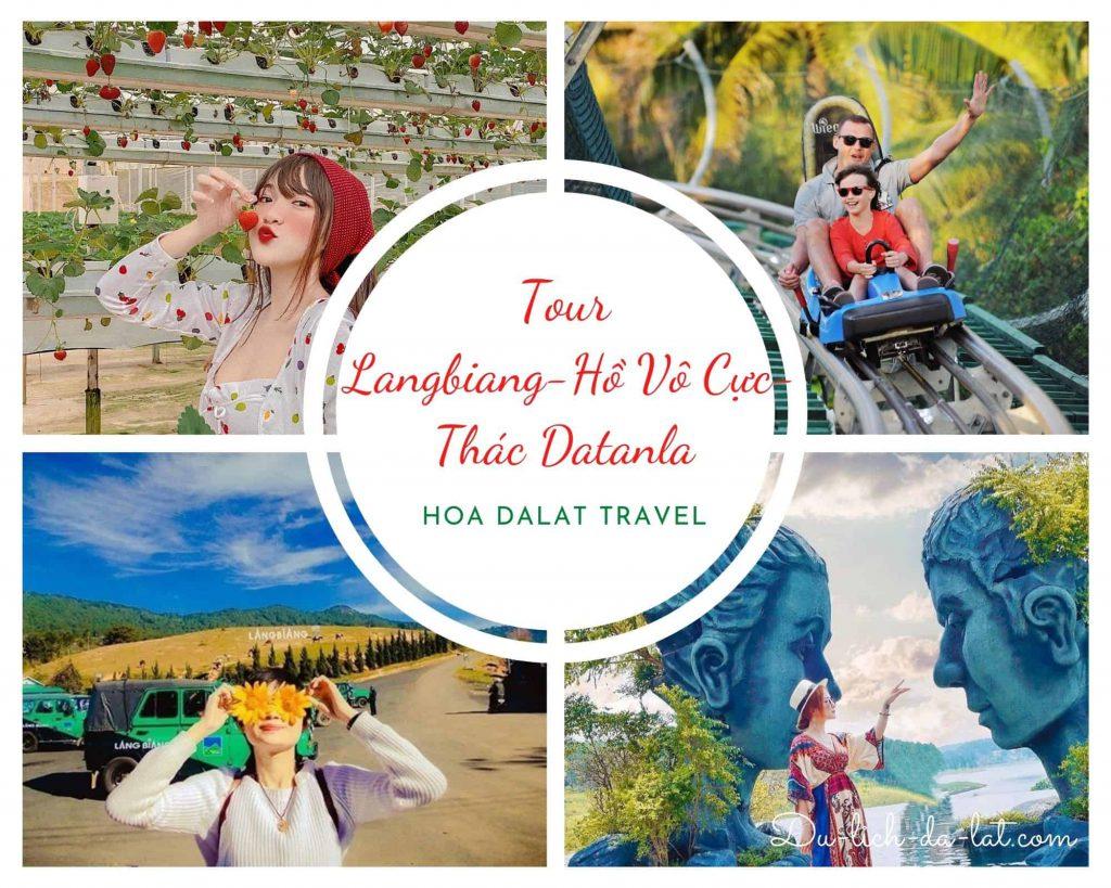 Tour Chinh Phục Langbiang - Hồ Vô Cực - Thác Datanla
