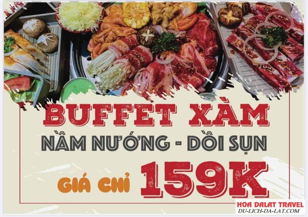 Buffet Xàm Đà Lạt