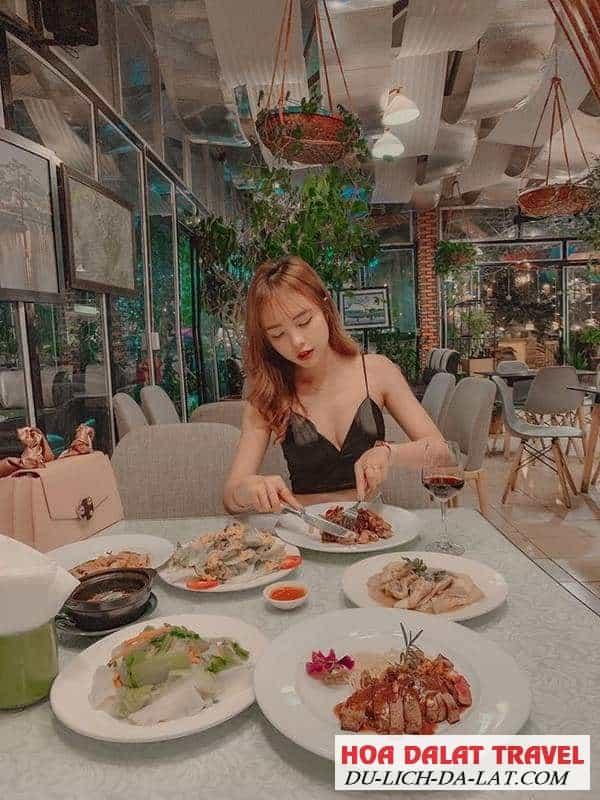 Món ngon ở nhà hàng Memory Đà Lạt