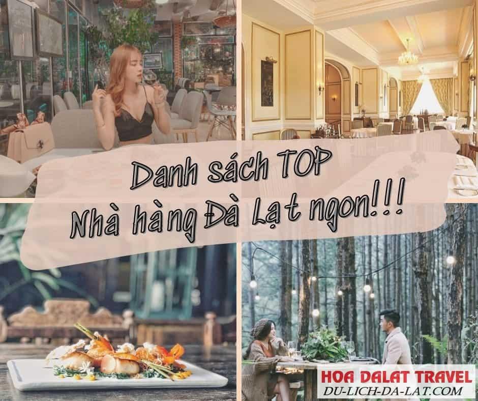 Nhà hàng ngon ở Đà Lạt