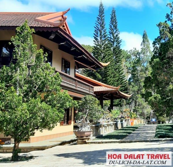 Hai khu chính của Thiền Viện Trúc Lâm