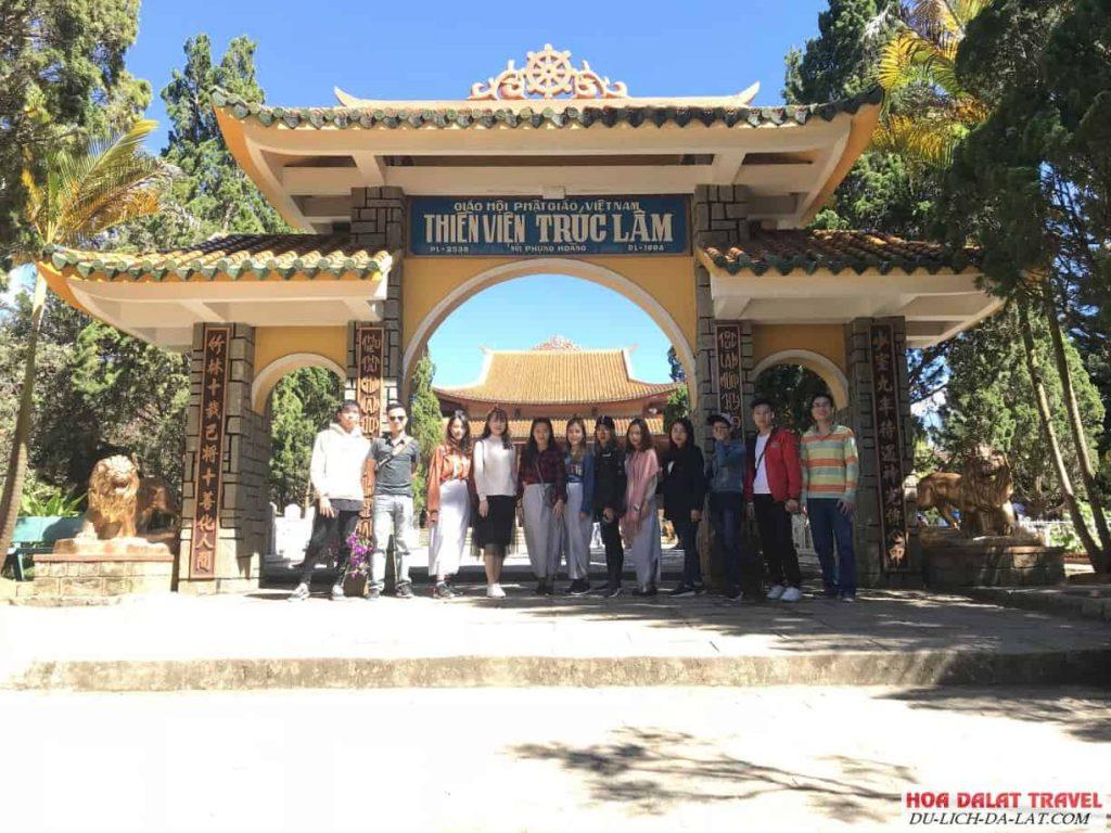 Hình ảnh Thiền Viện Trúc Lâm Đà Lạt - Du khách chụp