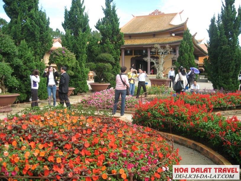 Thiền Viện Trúc Lâm Đà Lạt giờ mở cửa