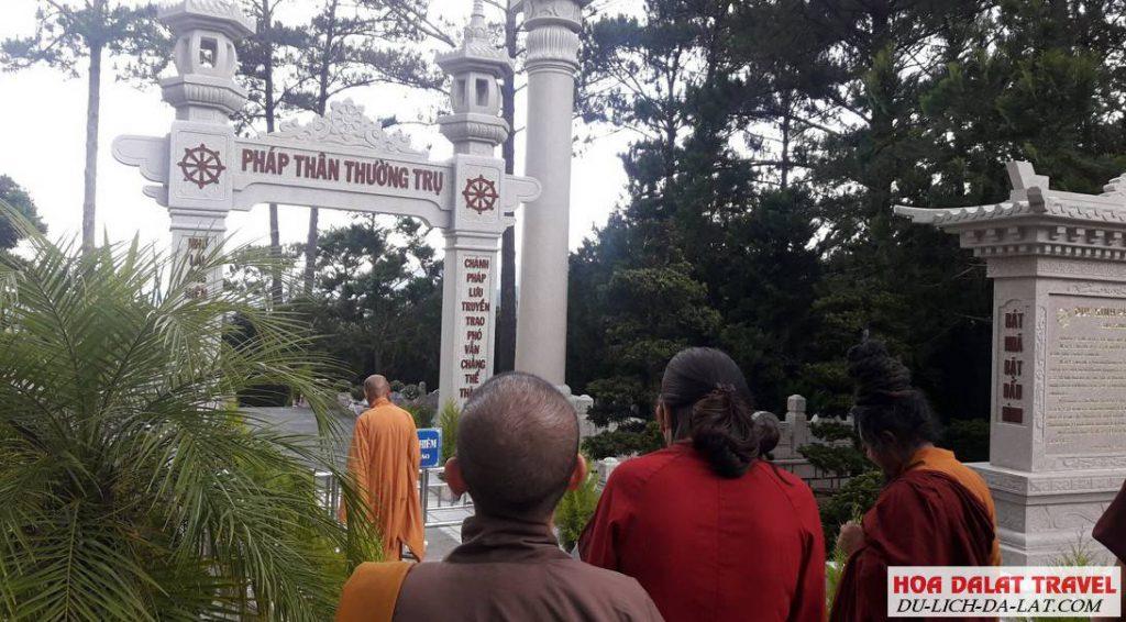 Thông tin liên hệ Thiền Viện Trúc Lâm Đà Lạt
