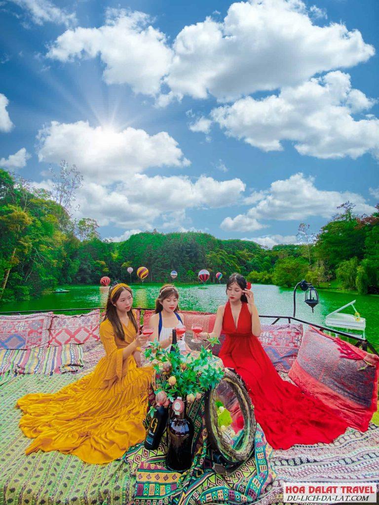 check in lạc tiên giới ở Đà Lạt