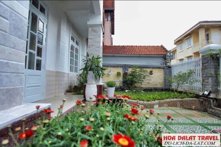 Biệt thự 12 Triệu Việt Vương- sân vườn