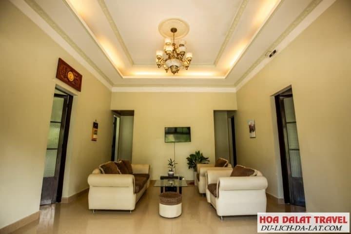 Biệt thự Hùng Vương-nội thất