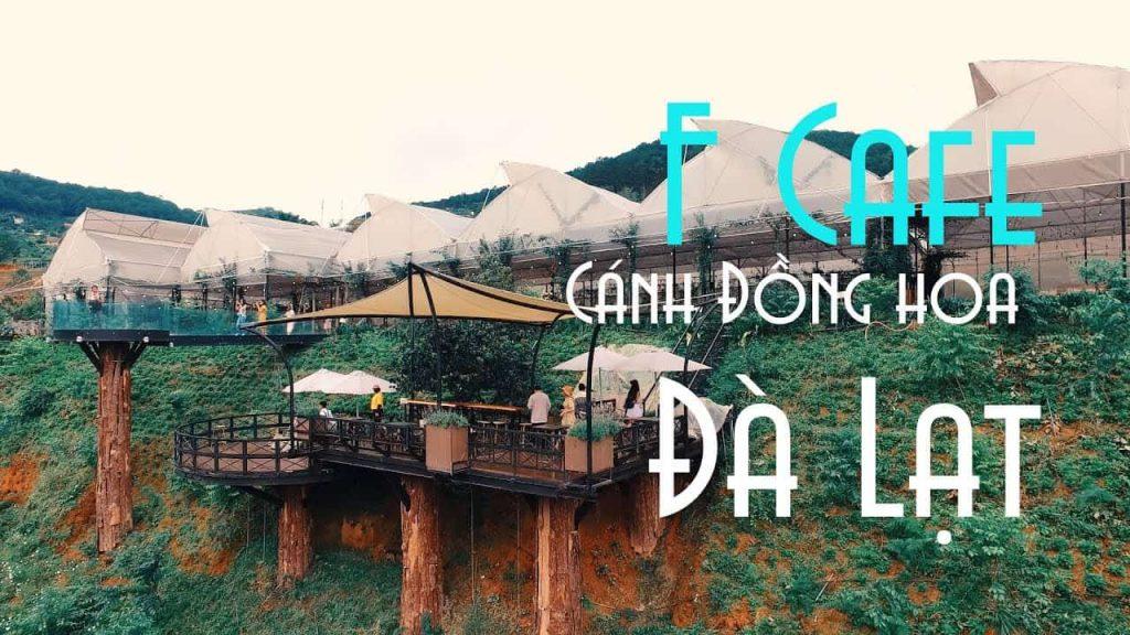Cafe F Cánh đồng hoa Đà Lạt