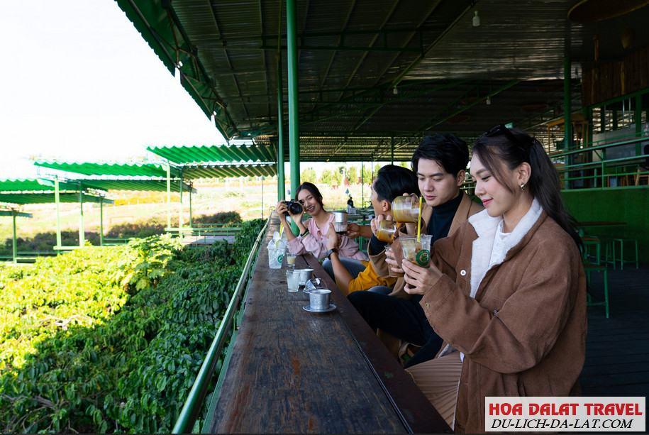 Điều gì khiến Cafe Mê Linh Đà Lạt đông khách