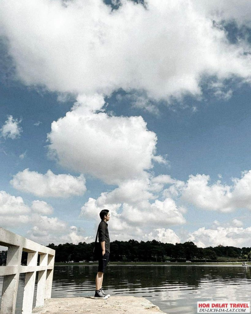 Hình ảnh hồ Xuân Hương Đà Lạt - du khách chụp