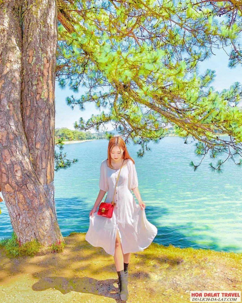 Hình ảnh hồ Xuân Hương của du khách
