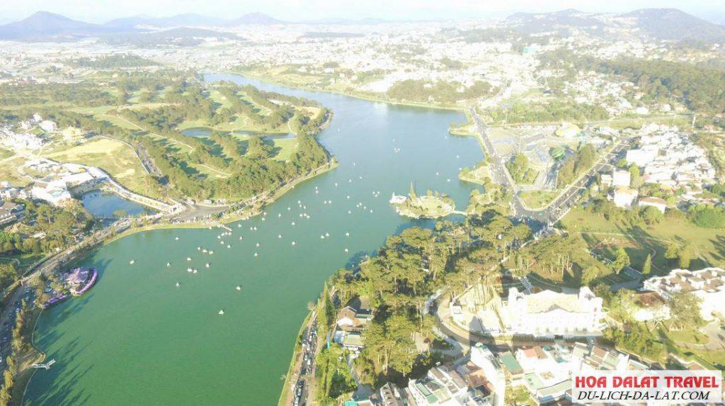 Hồ Xuân Hương dài bao nhiêu km