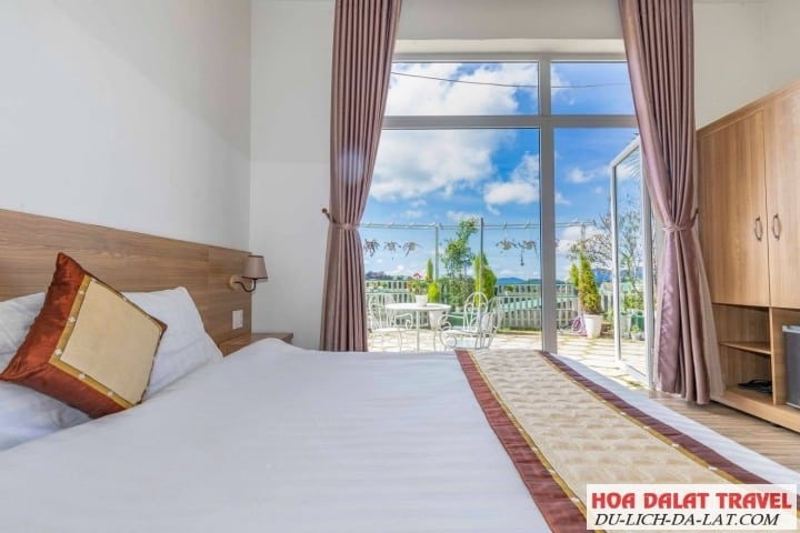 Lacami Rose De Villa- view phòng ngủ
