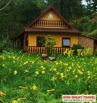 Resort nghỉ dưỡng giữa rừng hoa