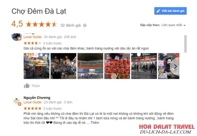 Review chợ Đà Lạt