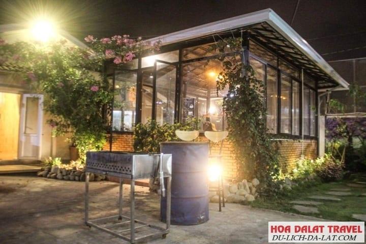 Thiên Vũ Villa & Homestay- sân vườn