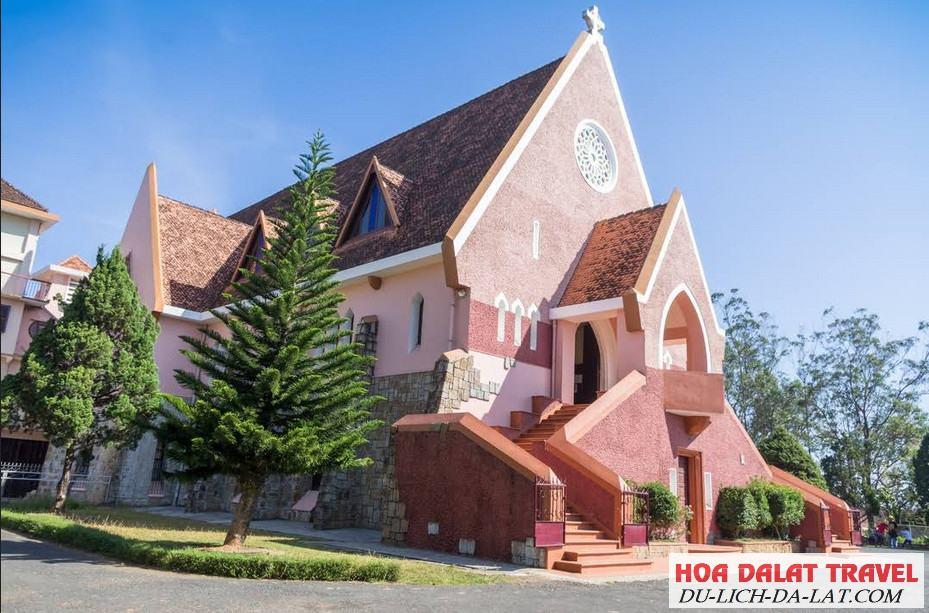Tổng quan về nhà thờ Domaine De Marie Đà Lạt