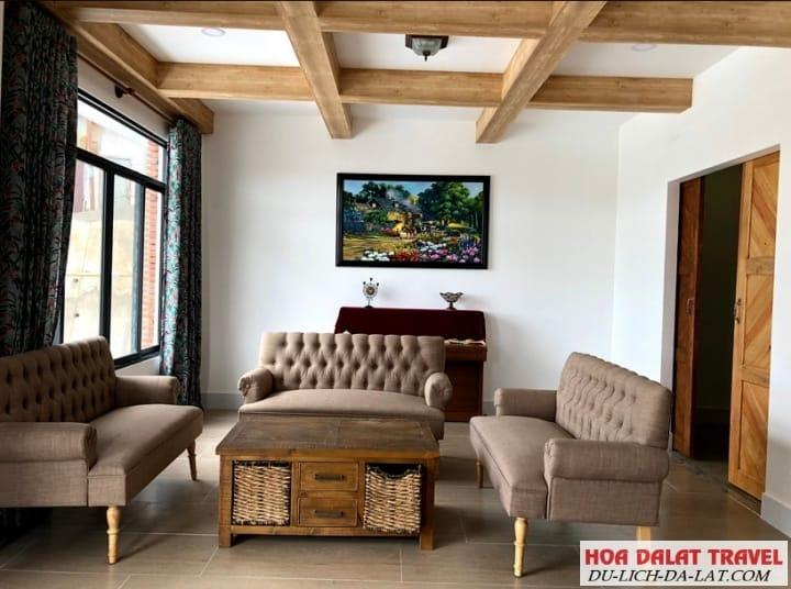 Villa Bắc Âu ( Hillside Villa Đà Lạt )- nội thất
