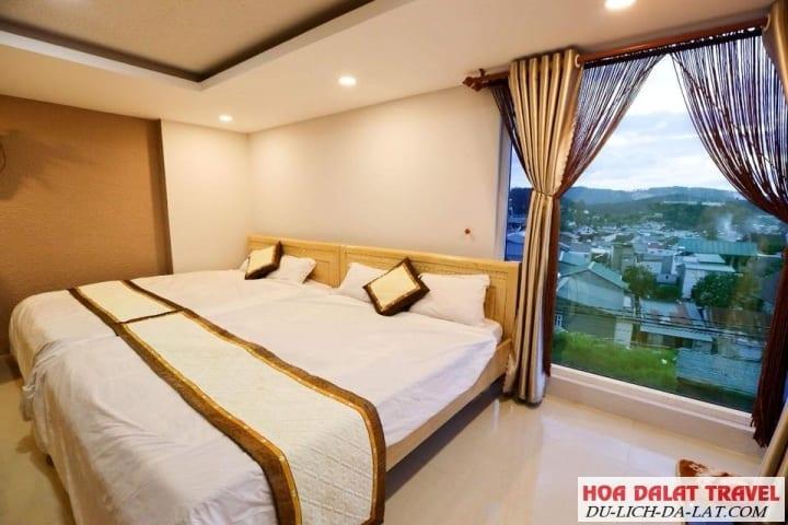 Villa Đà Lạt đường Nguyễn An Ninh - phòng ngủ