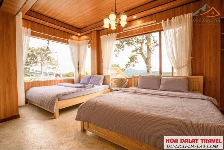 Villa Đồi Gió Hú-phòng ngủ