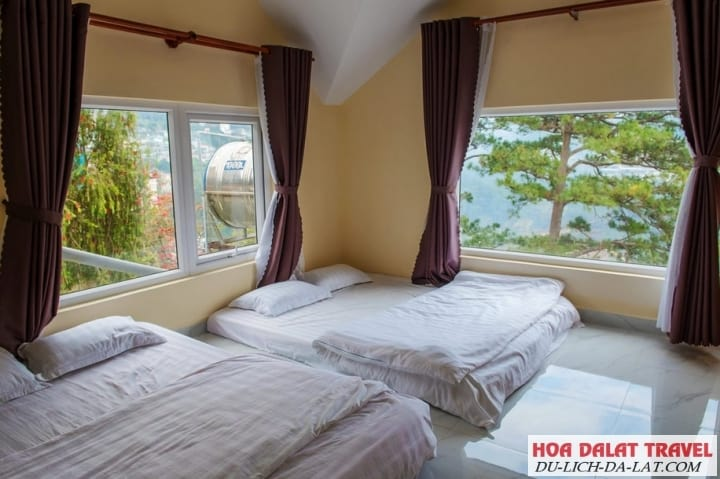 Villa Khang An - phòng ngủ