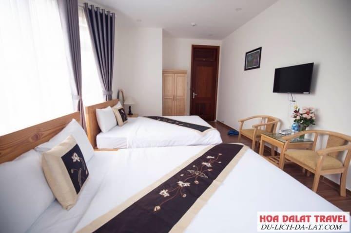 Villa đường Lê Văn Tám-phòng ngủ
