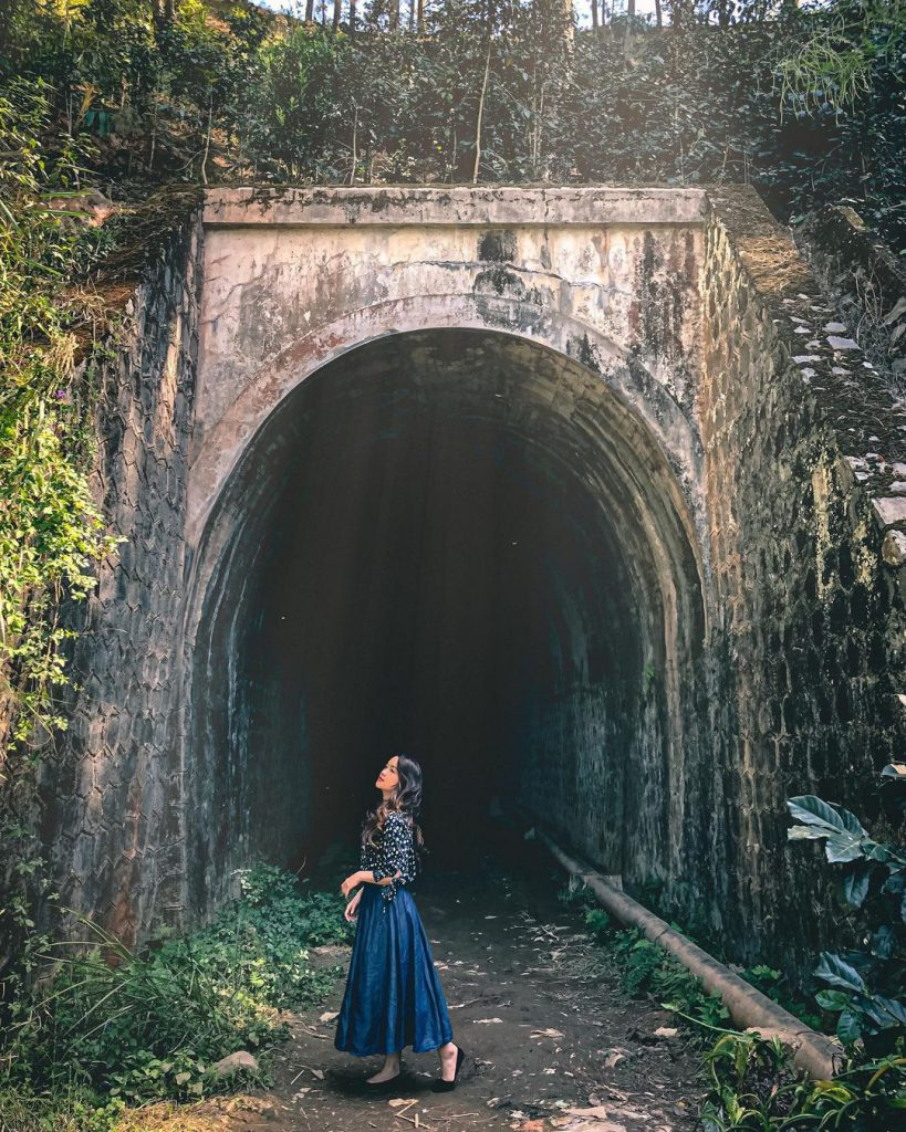 đường hầm Hoả Xa ở Đà Lạt