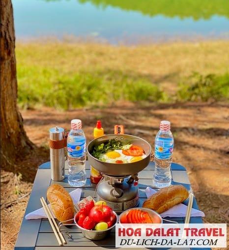 Ăn gì ở hồ Tuyền Lâm