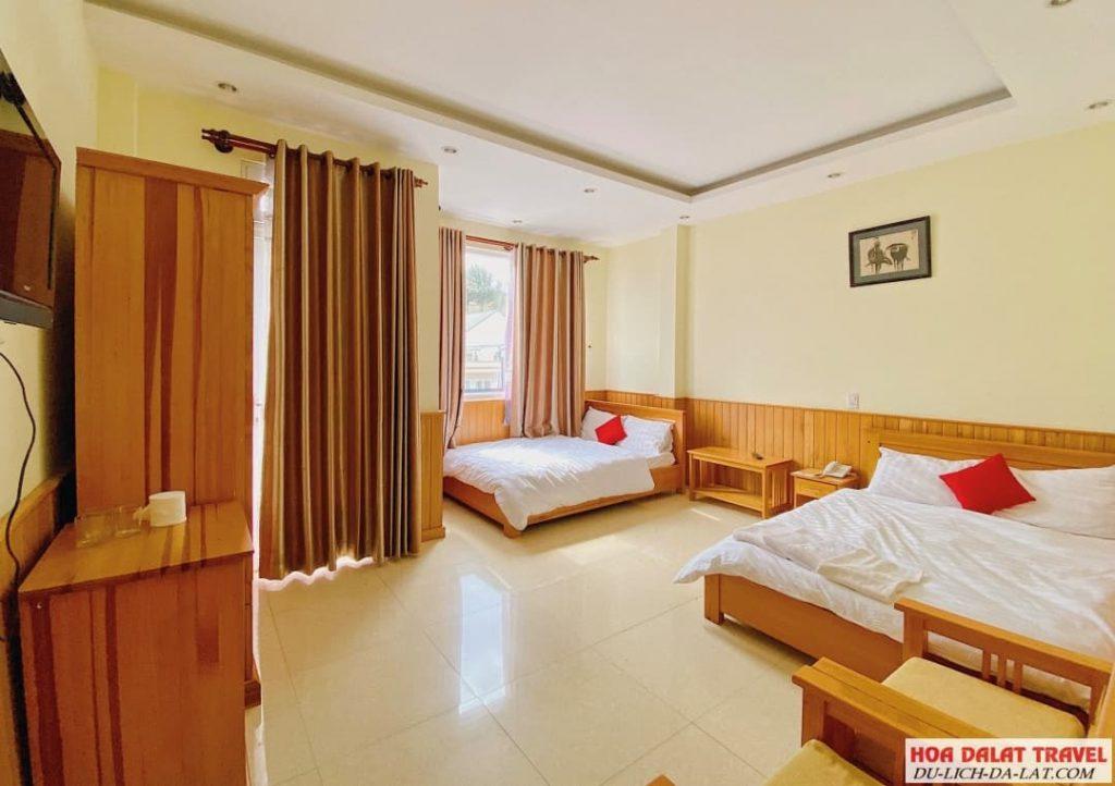 Bách An Lạc Hotel- phòng ngủ