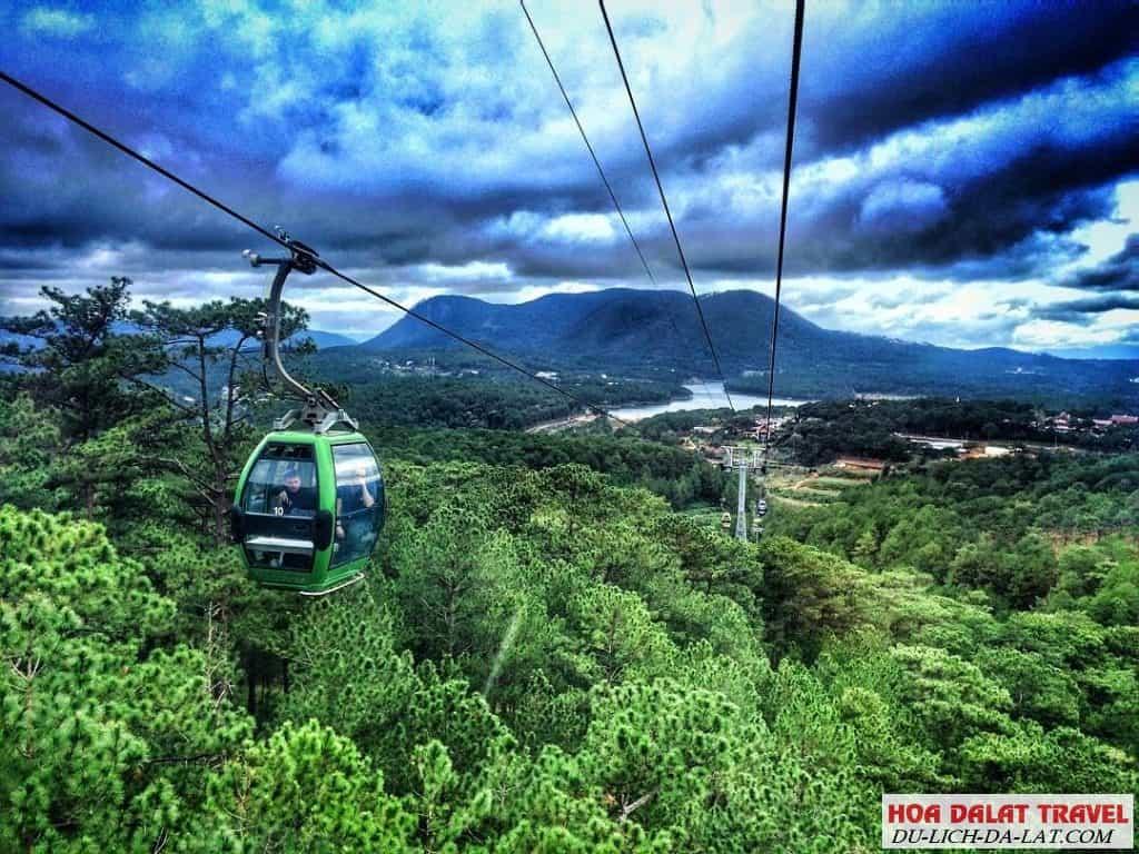 Cách đi đến hồ Tuyền Lâm