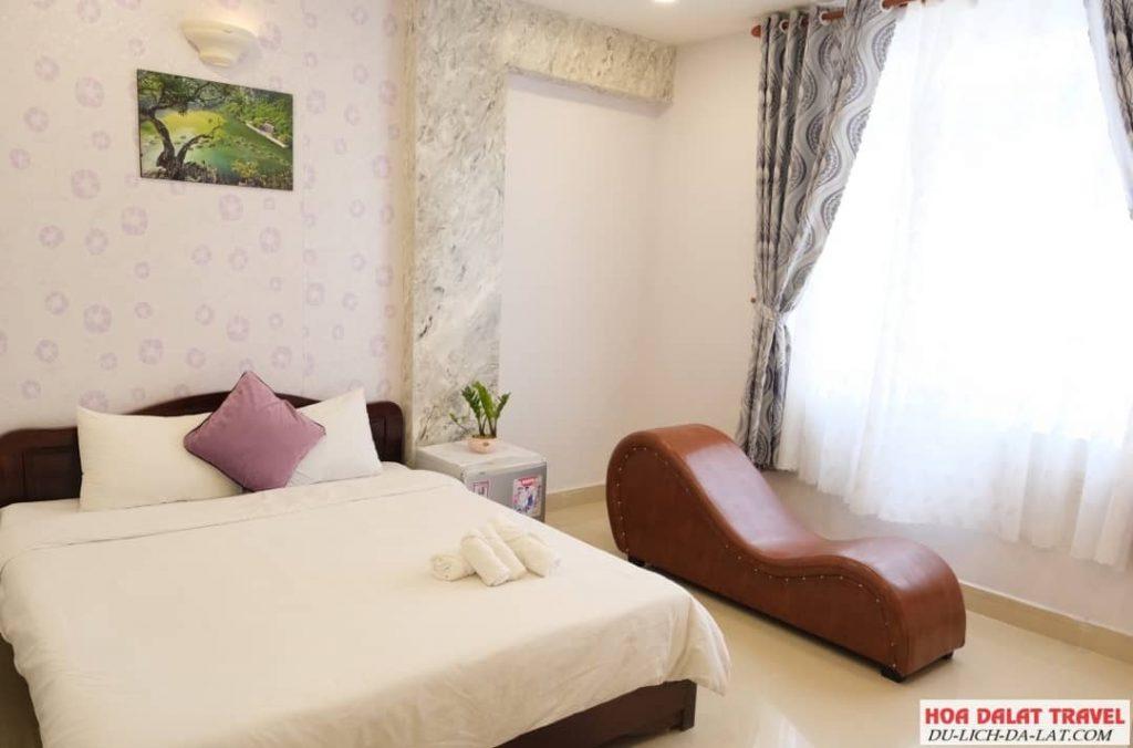 Dalat Colico Hotel- phòng ngủ