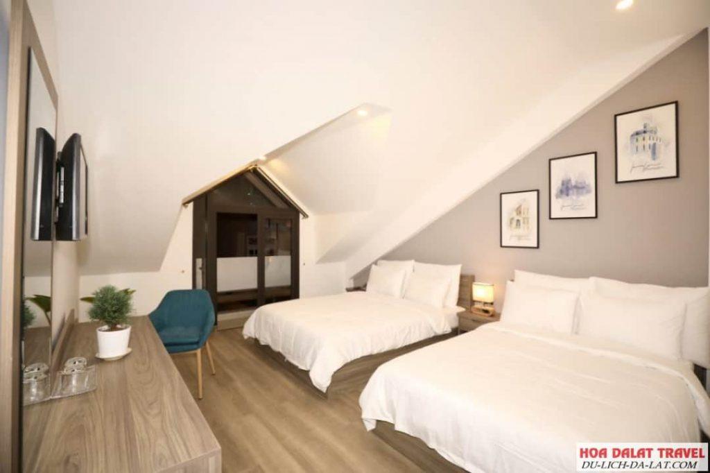 Dalat Serene Villa- phòng ngủ