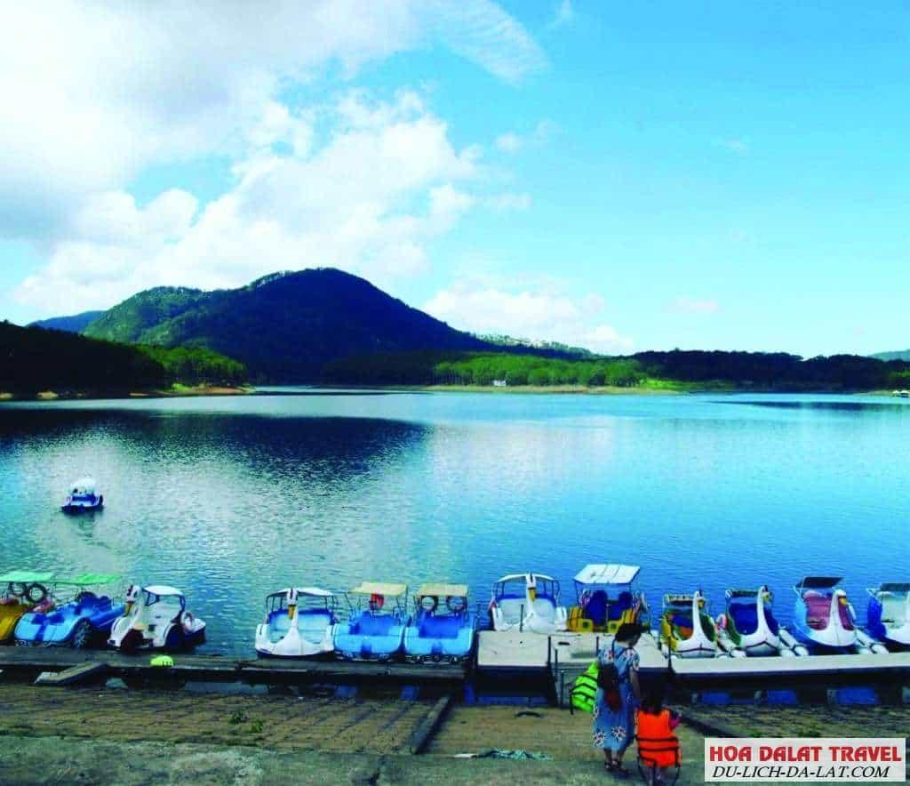 Giá vé hồ Tuyền Lâm Đà Lạt