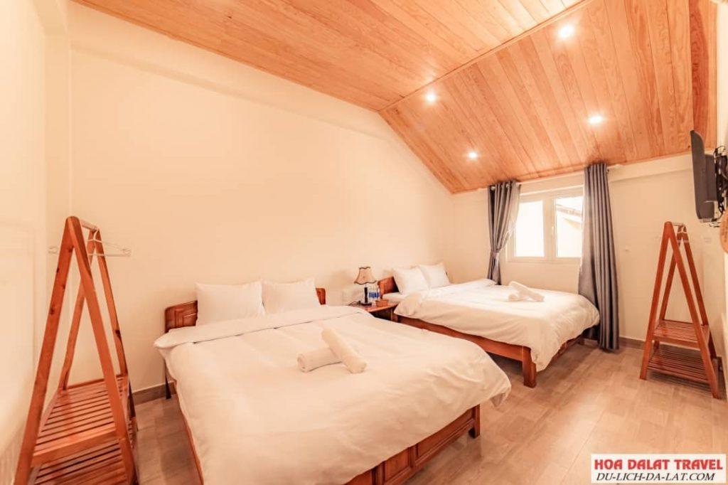 Giấc Mơ Hồng Hotel- phòng ngủ