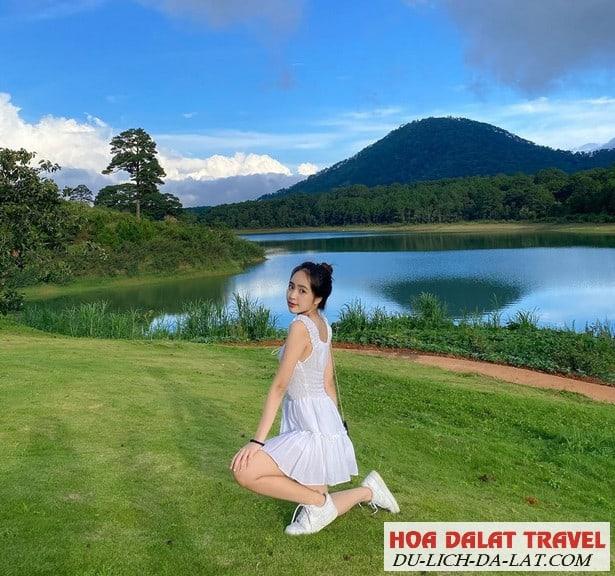 Hình ảnh về hồ Tuyền Lâm Đà Lạt- checkin bên hồ