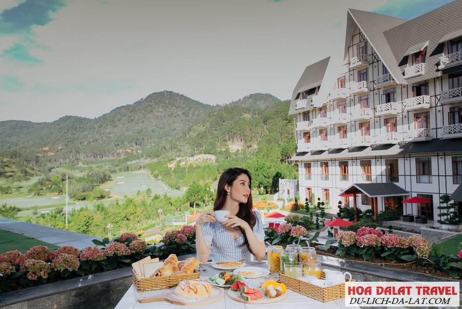 Hình ảnh về hồ Tuyền Lâm Đà Lạt- khách sạn bên hồ
