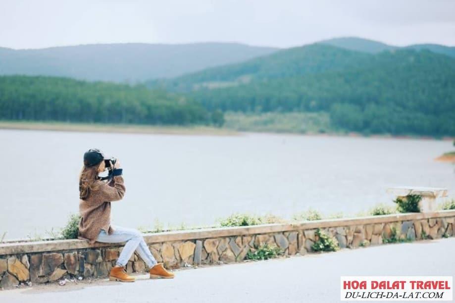 Hình ảnh về hồ Tuyền Lâm Đà Lạt