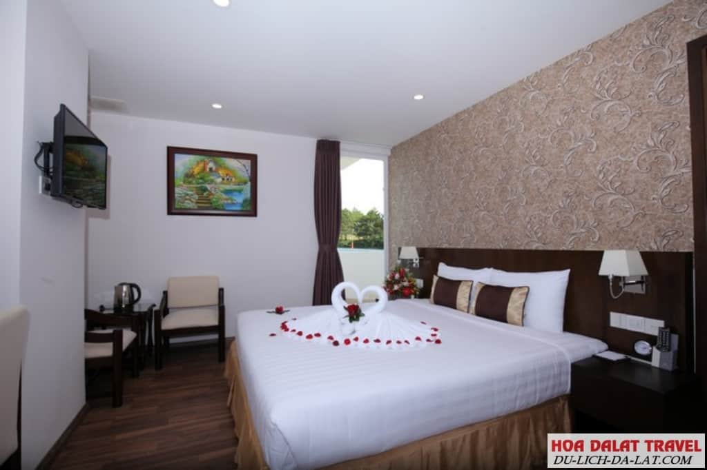 Khách sạn 3 sao Đà Lạt gần trung tâm