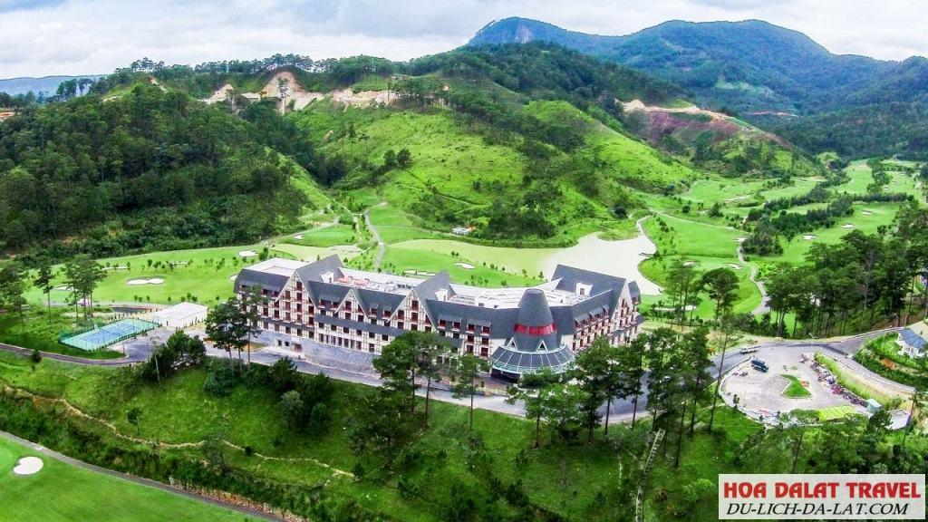 Khách sạn 4 sao Đà Lạt ở gần hồ Tuyền Lâm