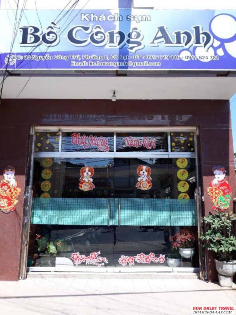 Khách sạn Bồ Công Anh Đà Lạt